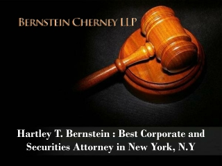 Hartley T. Bernstein - Law Attorney