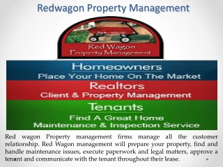 Find The Red wagon Management Services In San Antonio TX