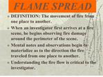 flame spread