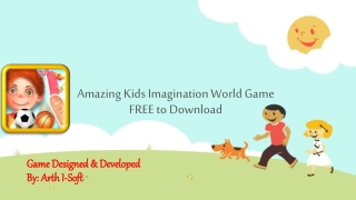 Amazing Kids Imagination World Game FREE to Download