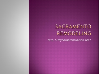 Sacramento Remodeling - Window Replacement | Concrete