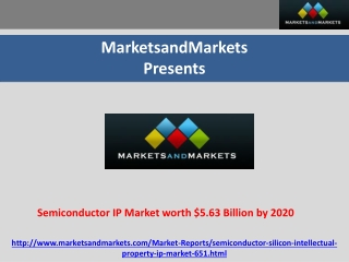 Semiconductor IP Market worth $5.63 Billion by 2020