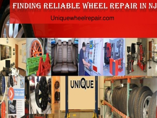 Finding reliable wheel repair services in NJ