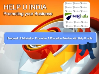 HELP U India- Online Education Portal. Find Colleges,