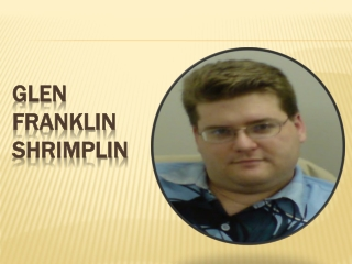 Glen Franklin Shrimplin