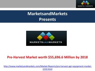 Pre-Harvest Market 2018.