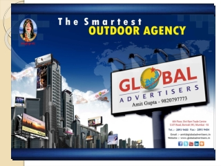 Outdoor Media Advertising At Bus Stops - Global Advertisers