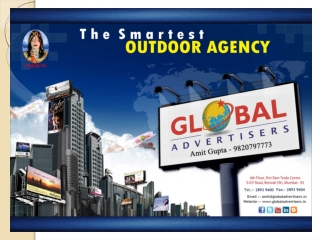Railway Media For Branding - Global Advertisers