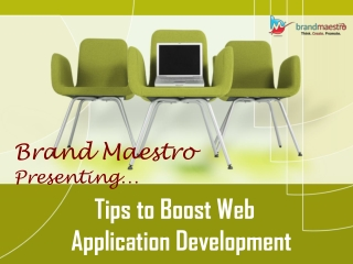 Effective Tips to Boost Web Application Development