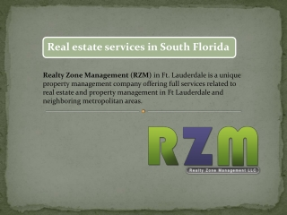 South Florida Property Management