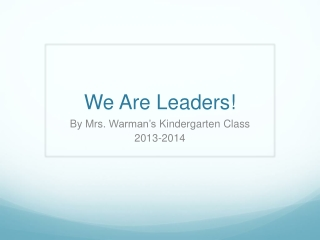 KLW Leaders