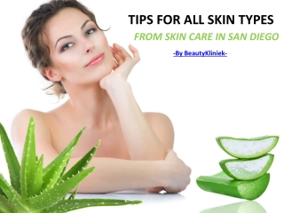 Take Care Of Skin With Skin Products From Skin Care San Dieg
