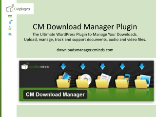 CM Download Manager Plugin