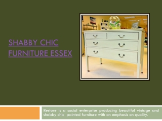 Vintage Furniture Essexf