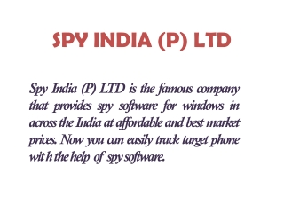 Spy Mobile Phone Software For Windows