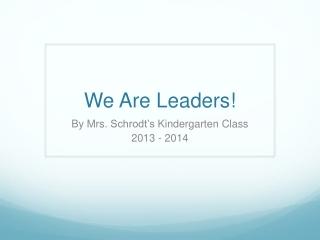 KSS Leaders