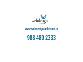 Web Design in Chennai