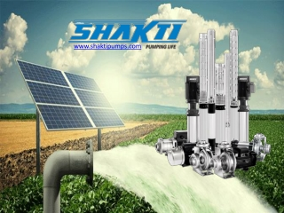 An Introduction of Shakti Pumps
