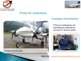 Air ambulance Transport (Flight)