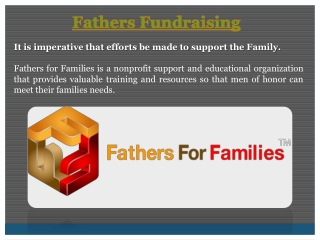 Fathers Fundraising