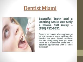 Dentist Miami
