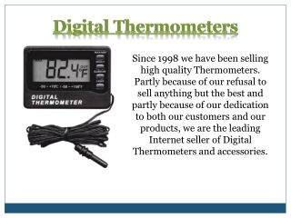 Outdoor Thermometers