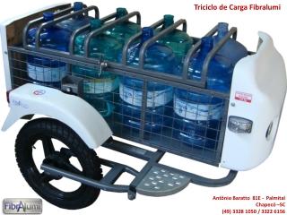 Triciclo de Carga Fibralumi