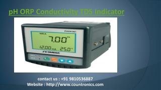PH Controller, ORP Meter