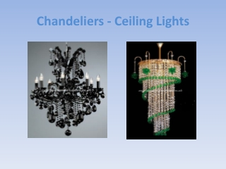 Chandelier Lighting for Sale - Brass or Gold Classical Chand