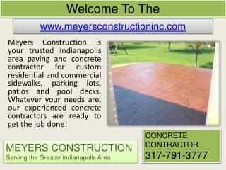 Paving Contractor In Indianapolis - Foundation Repair