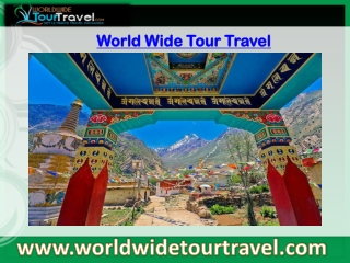 Online World Wide Tour Travel Service