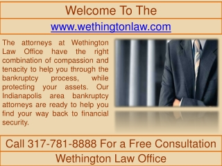 Debt Relief - Bankruptcy Attorney In Indianapolis - Stop Tax