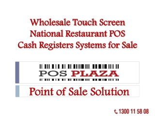 Wholesale Touch Screen National Restaurant POS Cash Register