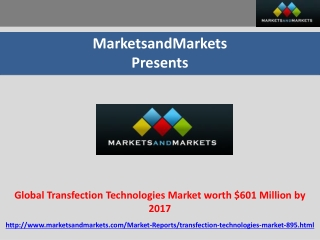 Global Transfection Technologies Market worth $601 Million b