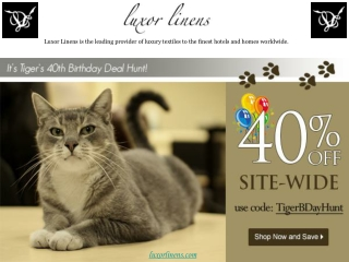 Luxor Linens Reviews- TigerBDayHunt Sale