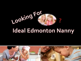 Nanny Edmonton