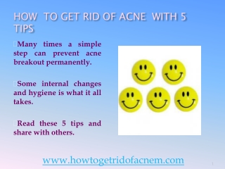 How To Get Rid Of Acne In 5 Steps