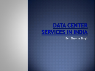 Tier III Data Center Services in India by Ricoh India