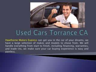 Car Dealers In Lawndale Ca