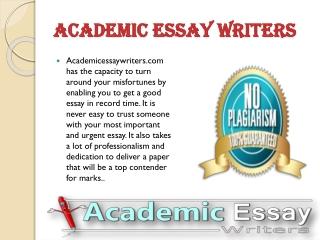 Custom Powerpoint Presentation Writing Service