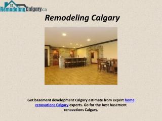 Renovation Companies in Calgary