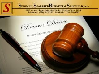 Divorce Lawyer In Killeen