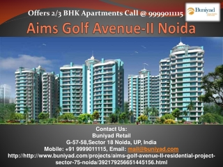 Aims New launch group housing project-Aims Golf Avenue 2