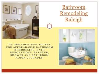 Bathroom Remodel Raleigh NC