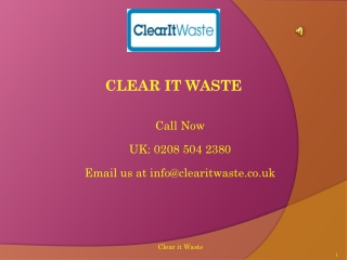 Junk Removal Areas Covered by Clear it Waste