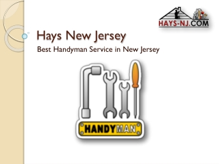 Best Handyman services in New Jersey