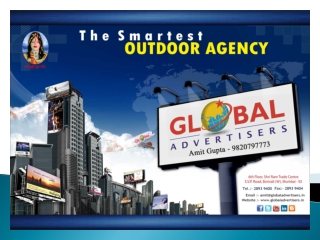 Best Rotational Plan for Outdoor Publicity in Mumbai - Globa