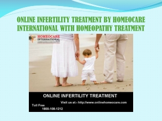 ONLINE INFERTILITY TREATMENT