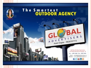 Special Offers for Outdoor Publicity in Mumbai - Global Adve