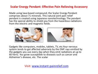 Natural joint pain relief products
